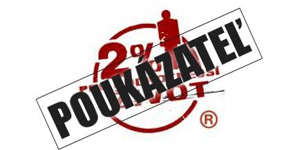 Chcem poukázať 2% z dane
