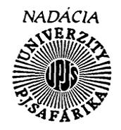 Nadácia Univerzity Pavla Jozefa Šafárika
